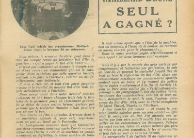 1934 19-21 05 Le Bol d'Or, Saint-Germain-en-Laye. Amilcar C.A. Martin n°42, Poulain 2ème n°56 et Poiré n° 67, 4ème. 22