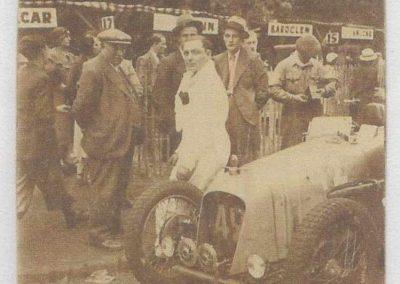 1934 19-21 05 Le Bol d'Or, Saint-Germain-en-Laye. Amilcar C.A. Martin n°42, Poulain 2ème n°56 et Poiré n° 67, 4ème. 6