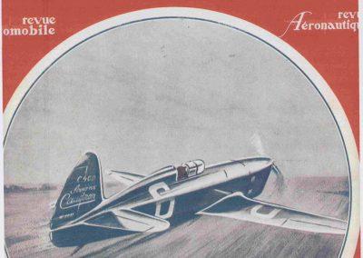 1934 -- -- Caudron-Renault C400, Delmotte, Record à 480 kmh. 1