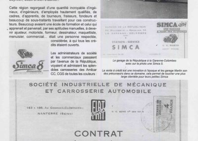 1935 -- -- 06 Achat Simca-FIAT Sport Ballila, Coppa d'Orro, n° moteur 15090, châssis 16090, immt. 4751 KK2. 001