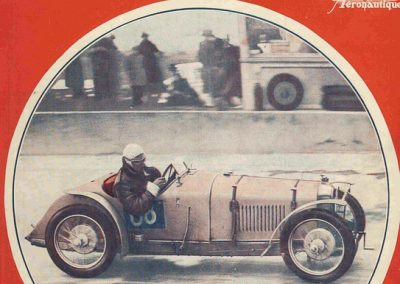 1935 14 04 Critérium l'Actualité Automobile, Critérium, 1er Ellievel (au volant) Amilcar C6-4 Spécial C.A. Martin-Le Mans à gauche. Epreuves des 200 m. D.A et arrivée arrêtée. 1