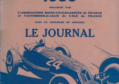 1935 18-19 05 l'Equipe de l'Ours, de Gavardie, Horvilleur, Poulain, Ellievel y participent. C.A Martin prépare la Fiat Coppa d'Oro. 1