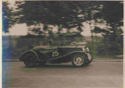 1936 01 05 Bol d'Or, Simca-Fiat, 3ème Sport C.A. Martin-rouge n°25, 1er Gordini-Blanc n°20, Zanardi-bleu n°22, 4ème Horvilleur Amilcar, 1er Course M.B. MG, 2ème Grignard Amilcar. 5