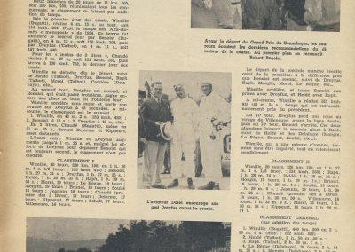1936 04 09 GP du Comminges. Wimille, Morel, Doré, Benoist, Raph, Chaudé, Dreyfus, Mongin, Carrères. 1