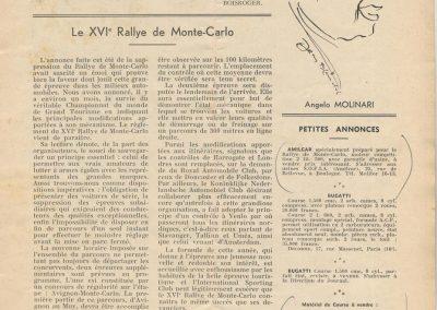 1936 -- 10 Annnonce vente C.A. Martin du MCO 1100 et du MCO 1500. Revue Auto Sport, 1ère année, n°2, page 13. 1