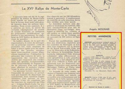 1936 20 09 C.A. Martin annonce la vente des 2 MCO. 1