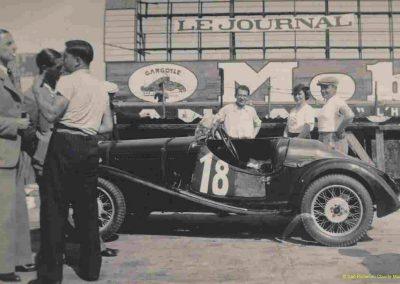 1936 20 09 Coupe d'Automne, C.A. Martin Simca-Fiat 3ème des 1100. Pollédry Alfa 1er des 2000 et 2ème au Critérium. La Coupe de Vitesse 1100, Grignard, Blot et Mestivier. 1