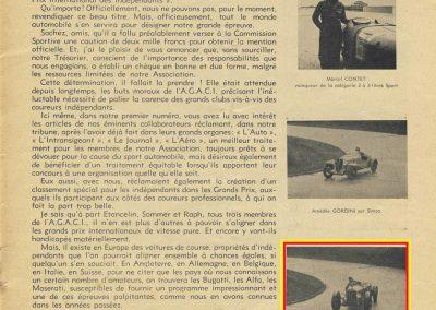 1936 20 09 Coupe d'Automne, C.A. Martin Simca-Fiat 3ème des 1100. Pollédry Alfa 1er des 2000 et 2ème au Critérium. La Coupe de Vitesse 1100, Grignard, Blot et Mestivier. 3