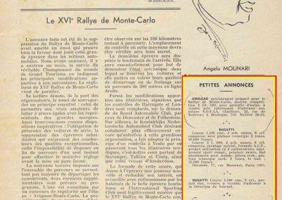 1936 20 09 Coupe d'Automne. Ventes de quelques Bugatti et des Amilcar MCO et Simca-Fiat Mille Miles de C.A. Martin. 13