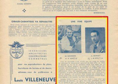1936 20 09 la Fine équipe, de Gavardie et de Brunay. 1