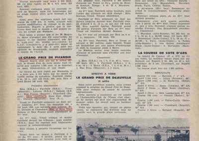 1936 26 06 GP Picardie, Amilcar Monoplace Blot, de Gavardie 8ème Amilcar MCO GH. 1_