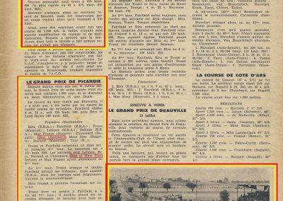 1936 26 06 Record Benoist 100 km à 210 km GP Picardie
