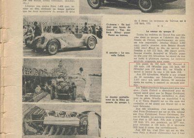 1936 28 06 G.P. de l'A.C.F. à Montlhéry. 20ème C.A. Martin Fiat Coppa d'Oro. Veyron-Williams 6ème. 3