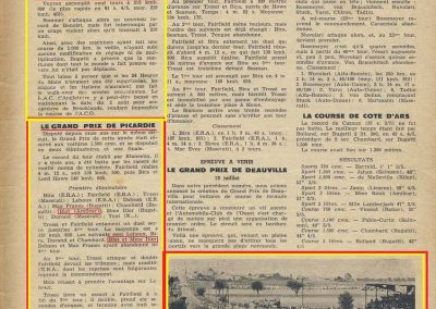1936 28 06 G.P. de l'A.C.F. à Montlhéry. 20ème C.A. Martin Fiat Coppa d'Oro. Veyron-Williams 6ème. 7_