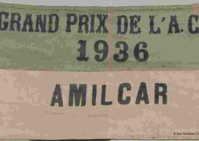 1936 28 06 GP ACF C.A. Martin 23ème Simca-Fiat 989 n°24, Coppa d'Oro devant Camérano, 1er Wimille-Sommer Bugatti 57, 3300cc. 1