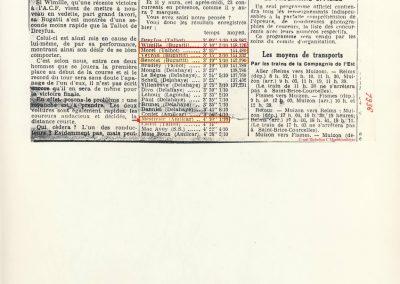 1936 28 06 GP ACF à Reims 1er Dreyffus- Talbot, Wimille-Bugatti, Morel-Talbot, Veyron-Bugatti, Benoist-Bugatti et 17ème Mestivier Amilcar 2300cc. 1