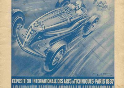 1937 02 05 Journée Internationale des Indépendants. Coupe de Vitesse, Amilcar, Grignard, de Burnay, Mestivier, Biolay. 2