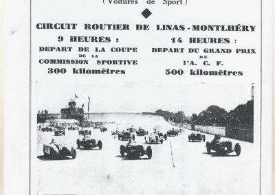1937 04 07 GP ACF Voiture Sport à Montlhéry 1