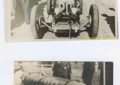 1937 15-17 05 Bol d'Or, le 16ème à Montlhéry. 1er Cat. Amilcar Horvilleur, Georges Grigard au volant de l'Amilcar Monoplace. 2