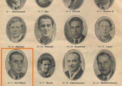 1937 15-17 05 Bol d'Or, le 16ème à Montlhéry. 1er Cat. Amilcar Horvilleur, Georges Grigard au volant de l'Amilcar Monoplace. 3