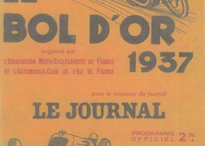 1937 17 05 Bol d'Or, Amilcar-Grignard, Horvilleur, Burmand, de Burnay, Simca- Gordini, Zanardi, Camérano, Maillard-Brune, Chenard-Rigoulot. 0