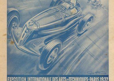 1937 19 09 Journée (la 2ème) Automobile des Indépendants 1