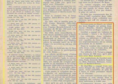1937 20 06 les 24h du Mans, Amilcar, Grignard, de Burnay, Mestivier. 2