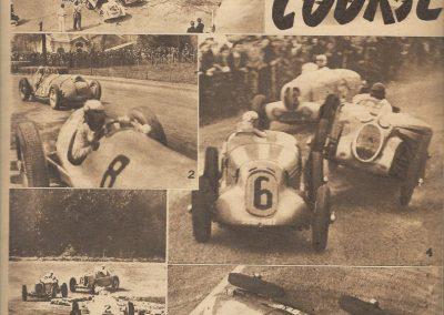 1937 G P de l'ACF à Montlhéry, C.A. Martin Simca-Fiat n° 24, 998cc, 23ème au général
