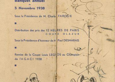 1938 05 11 Banquet annuel AGACI.1