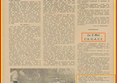 1938 08 04 Journée de l'A.G.AC.I, la Coupe de Paris, Mestivier Amilcar 1100 MCO, Biolay Amilcar Monoplace. GP de Pau Dreyfus-Caracciola. 2