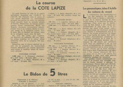 1938 11 09 12 H. de Paris Morel Côte Lapize 2