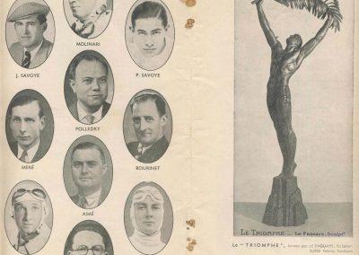 1938 11 09 les 12 heures de Paris. Biolay-Serreaud (Delahaye), Gordini-Scaron (Simca-Fiat), Pollédry (Aston Martin), Le Bègue-Morel (Talbot). 3
