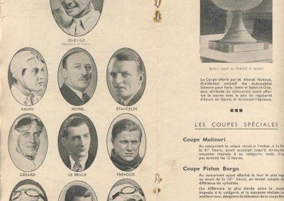 1938 11 09 les 12 heures de Paris. Serraud-Giraud-Cababtous, Gordini-Scaron, Le Bègue-Morel, Raph, Pollédry, Villeneuve-Biolay, Roux-Mestivier, Etancelin-Carrière, Dreyfus, Rouault-Itier.... 4