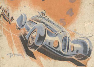 1938 11 09 les 12 heures de Paris. les Pilotes, Biolet, Serraud.... 1