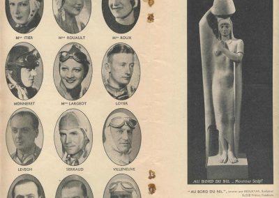 1938 11 09 les 12 heures de Paris. les Pilotes, Monneret, Loyer, Biolet, Serraud, Itier... . 2