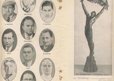 1938 11 09 les 12 heures de Paris. les Pilotes, Savoye, Deutsch, Bonnet, Pollédry, Molinari.... . 5