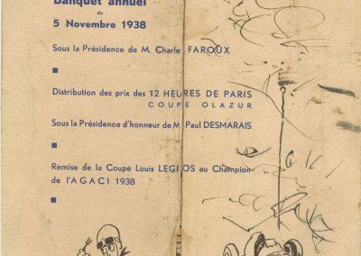 1938 Banquet AGACIE. 2