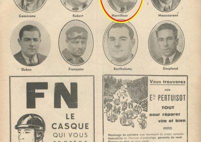 1939 11 06 les 24 heures du Bol d'Or, Circuit de 5 km à Montlhéry, les Coupes des Huiles Olazur, Desmarais Frères. Horvilleur. 3