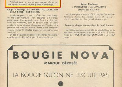 1939 11 06 les 24 heures du Bol d'Or, Circuit de 5 km à Montlhéry, les Coupes des Huiles Olazur, Desmarais Frères. Horvilleur. 6