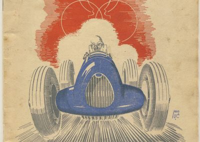 1945 09 09 Coupe de Paris, Bois Boulogne Porte Dauphine-Muette. Amilcar Mestivier MCO 1100, C.A. Martin MCO 1500, Grignard, Ondet Monoplace Amilcar, Polledry Alfa-Roméo 0