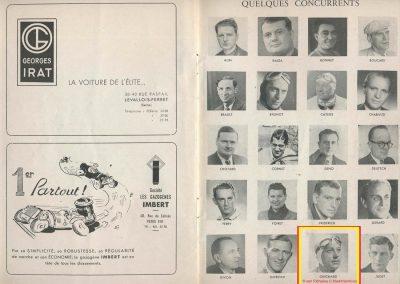 1945 09 09 Coupe de Paris, R. Benoist, Libération et des Prisonniers, Porte Dauphine. Amilcar C.A. Martin MCO, Mestivier MCO 1100, Ondet Monoplace 6 c. Grignard, Polledry Alfa 1750. 12