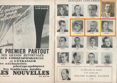 1945 09 09 Coupe de Paris, R. Benoist, Libération et des Prisonniers, Porte Dauphine. Amilcar C.A. Martin MCO, Mestivier MCO 1100, Ondet Monoplace 6 c. Grignard, Polledry Alfa 1750. 3