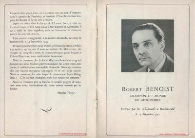 1945 09 09 Coupe de Paris, R. Benoist, Libération et des Prisonniers, Porte Dauphine. Amilcar C.A. Martin MCO, Mestivier MCO 1100, Ondet Monoplace 6 c. Grignard, Polledry Alfa 1750. 5