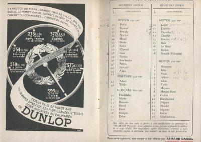 1945 09 09 Coupe de Paris et Libération, Bois Boulogne Porte Dauphine-Muette. Amilcar Mestivier MCO 1100, C.A. Martin MCO 1500, Grignard, Ondet Monoplace 6cyl. Amilcar, Polledry Alfa-Roméo 1750. 11