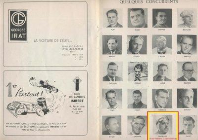 1945 09 09 Coupe de Paris et Libération, Dauphine. Amilcar Mestivier MCO 1100, C.A. Martin MCO 1500, Grignard, Ondet Monoplace 6cyl. Amilcar, Polledry Alfa-Roméo 1750. 7