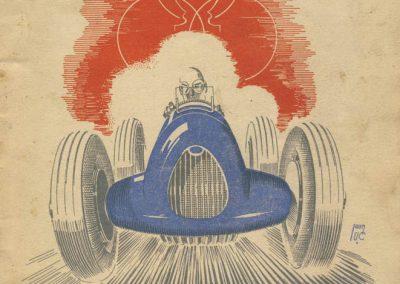 1945 09 09 Coupe de Paris (une Coupe des Prisonniers, une Robert Benoist, une de la Libération et 2 Ile de France) Bois Boulogne (Dauphine). Amilcar Ondet, Alfa 1750 Polledry. 1