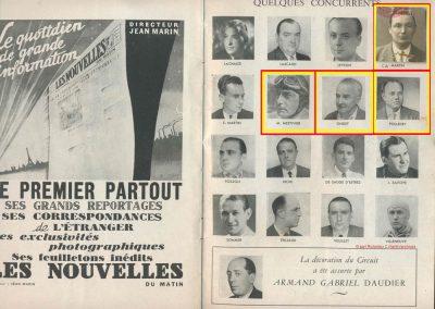 1945 09 09 Coupe de Paris (une Coupe des Prisonniers, une Robert Benoist, une de la Libération et 2 l'Ile France) Bois Boulogne (Dauphine). Amilcar Ondet, Alfa 1750 Polledry. 3