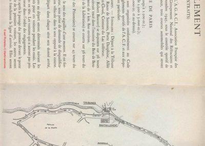 1945 09 09 Coupe de Paris (une Coupe des Prisonniers, une Robert Benoist, une de la Libération et 2 l'Ile France) Bois Boulogne (Dauphine). Amilcar Ondet, Alfa 1750 Polledry. 5