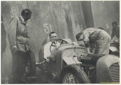 1946 09 06 Circuit Saint-Cloud Coupe Conseil Municipal Inauguratuib de l'Autoroute de l'Ouest. C.A. Martin Amilcar n°51 MCO 1500cc. 4