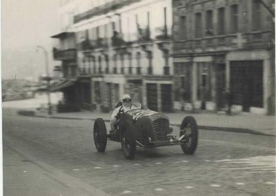 1946 09 06 Circuit Saint-Cloud Coupe Conseil Municipal Inauguratuib de l'Autoroute de l'Ouest. C.A. Martin Amilcar n°51 MCO 1500cc. 6